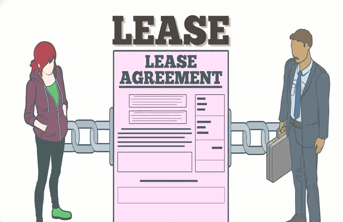 Why are lease agreements always on legal size paper?