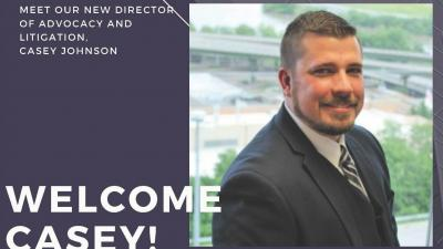 KLS-New Director of Litigation and Advocacy, Casey Johnson